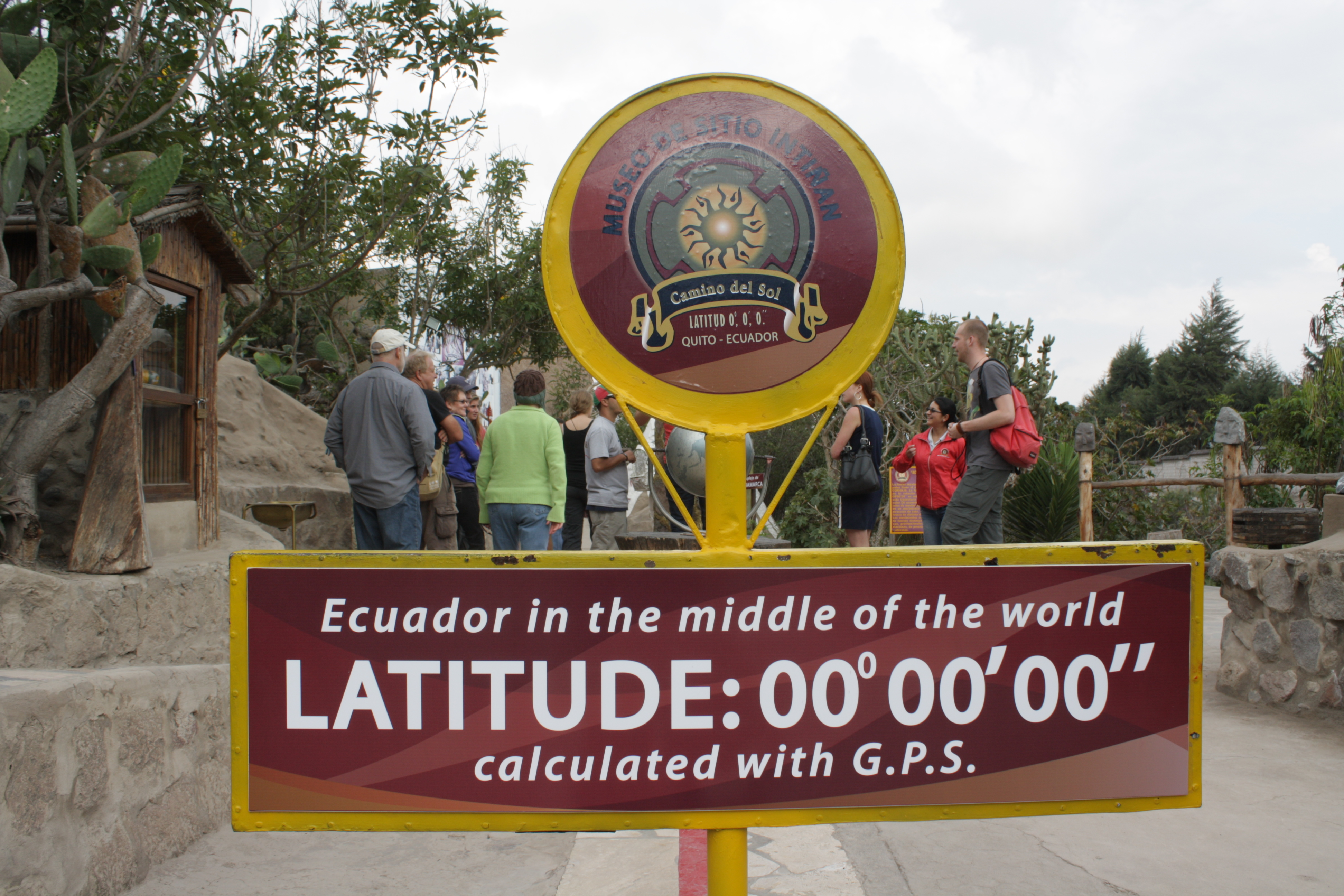 Visiting The Equator Line Mitad Del Mundo Nerd Travels